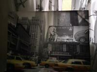 New York large canvas