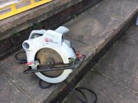 Circular saw plus sanding tools