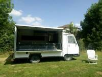 Classic French Peugeot J9 Catering Van Food Truck 1987 Barn Find Restoration Project LHD