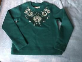 Jack wills embroidered jumper