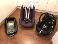 Maxi-Cosi Pebble & Pearl Baby & Toddler Car Seats with FamilyFix Base