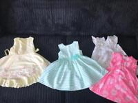 One to one and half year girls dresses