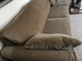 Beautiful NEXT large sofa / setee HARDLY USED RRP £1500