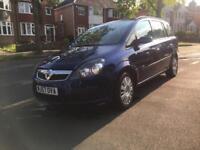 2007 Vauxhall Zafira 1.8i Life Long Mot 2 Keys FSH Bargain!!!Bargain!!!