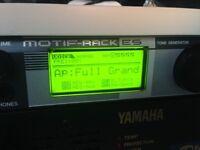 Yamaha Motif Rack ES Synthesizer