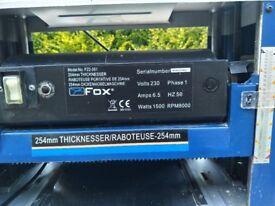 Fox thicknesser