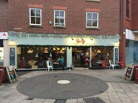 Assistant manager required for Kidderminster independent Coffee Shop £19,000 - £20,000p/a