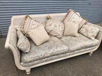 Sofa settee good quality. Good condition
