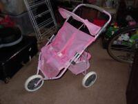 dolls double stroller