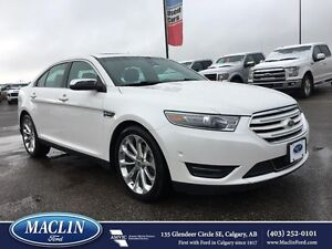 2013 Ford Taurus Limited, Nav, AWD, Hot/Cold Leather, Roof