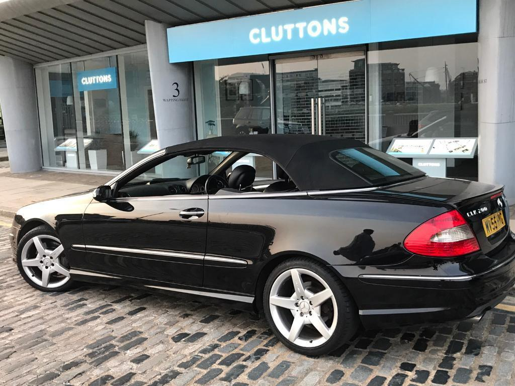 mercedes clk 200 kompressor sport amg spec low mileage. Black Bedroom Furniture Sets. Home Design Ideas