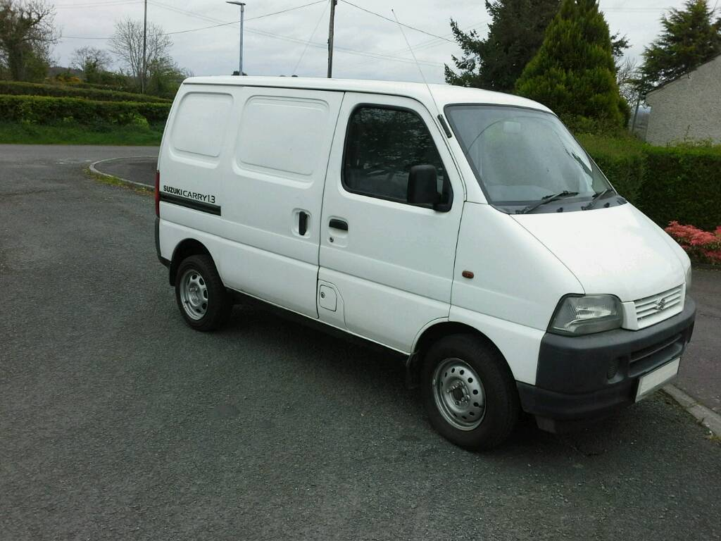 2003 suzuki carry van in banbridge county down gumtree. Black Bedroom Furniture Sets. Home Design Ideas