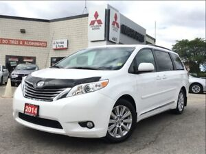 2014 Toyota Sienna XLE (LEATHER, SUNROOF, POWER GROUP)