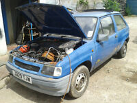 vauxhall nova mk2 breaking for spare parts