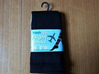TRAVEL SOCKS for Plane,Train or Car. -DVT- UNISEX -SIZE 4-7 BRAND NEW.