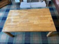 IKEA Klamby Solid Oak Coffee Table