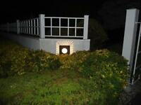 Outdoor wall sconces - six in total