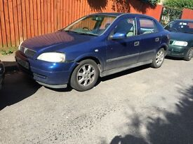 Vauxhall Astra 1.4 starts and drives
