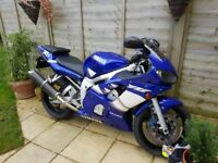 Reluctant sale clean super low mileage R6