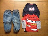 Boys 12-18 months NEXT clothes bundle