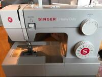 Singer Heavy Duty 4411 Sewing Machine (Italian model) Hardly Used
