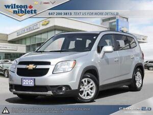 2012 Chevrolet Orlando 1LT 1 OWNER, ACCIDENT FREE