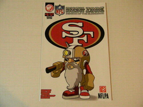 1 NFL RUSH ZONE SEASON OF THE GUARDIANS #1 SF 49ERS VARIANT / Action Lab 2013 +