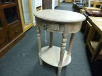 Furniture Mill Sale DRIFTWOOD HALL/SIDE TABLE WITH DRAWER Furniture Mill Sale
