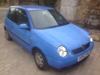 VW LUPO E, 1.0, ONLY 59,950 MILES ON THE CLOCK AND MOT TILL JULY 2017