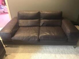 Incanto Italian Leather Sofa