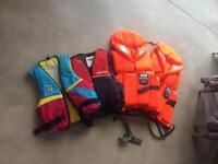 Life jackets x 4