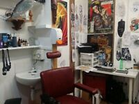 TATTOO STUDIO FOR RENT SHARE IN NORTH LONDON
