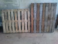 Pallets x 10 good wood.