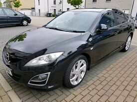2011 Mazda 6 Diesel Sport (12 month MOT) also comes with thule roof bars