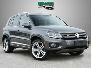 2014 Volkswagen Tiguan Highline  R-LINE  TECH