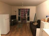 Standard room with double bed fully furnished in a 2bed flat