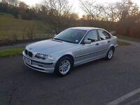 2001 BMW 3 Series 1.9 316i SE with 12mths MOT