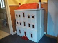 Dolls house, fully furnished, bespoke