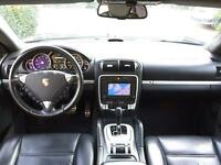 LHD LEFT HAND DRIVE PORSCHE CAYENNE S 4.5 TURBO FACELIFT 2006 BLACK FULLY LOADED AC LEATHER SUNROOF