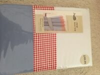 Dunelm Curtains and cot bumper