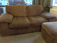 Two 3-seater sofas - very comfy! One is a sofa-bed