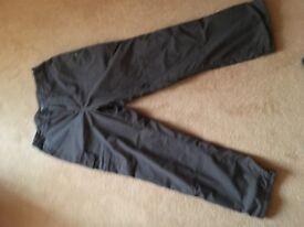 Men's Lined Craghopper walking trousers
