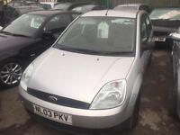 2003 Ford Fiesta 1.3 fee month mot great runner