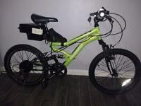 Kids electric mountain bike 250w 36v