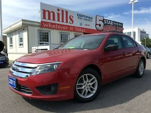 2011 Ford Fusion 4dr Sdn I4 S FWD