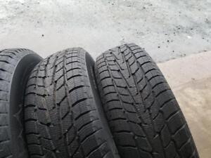 4  Gently Used 225/70/16 Motomaster Winter Tires