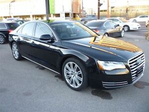 2012 Audi A8 4.2 Premium ALLOYS/LEATHER MASSAGE SEATING/NAVIGAT