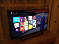 """Sony 40"""" full Hd smart led tv. Excellent condition. SLIM AND LIGHT. £220 NO OFFERS. CAN DELIVER"""