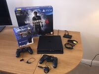 PS4 Slim 500GB Bundle Perfect Condition (Only 6 Months Old)