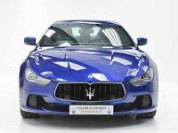 Maserati Ghibli DV6 (blue) 2015-11-03
